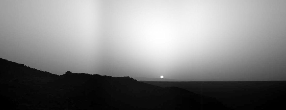 Your favorite pictures - Mars sunset wallpaper ...